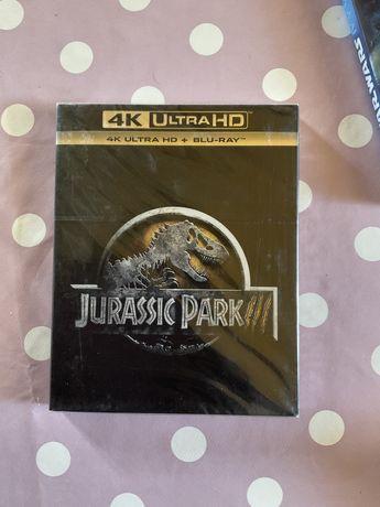 Jurassic park 3 ..4Kultrahd novo selado