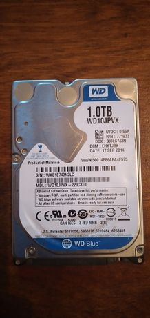 Жесткий диск, 2.5 sata. 1 Терабайт.