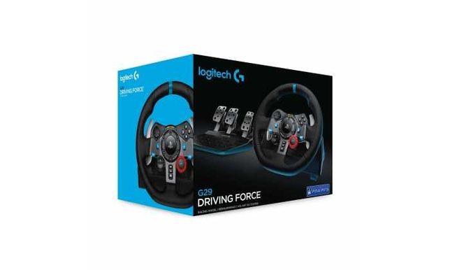 Novo Selado Volante Logitech G29 Driving Force PS5/PS4 e Pc