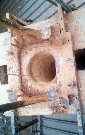 Remont komina, frezowanie, montaż wkładu