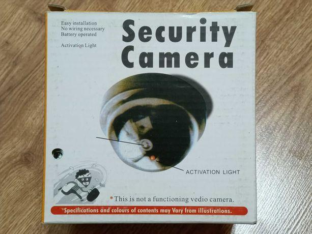 Atrapa kamery kopułkowej do monitoringu