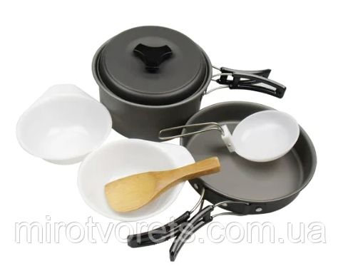 Набор туристической посуды Cooking Set DS-200 Одесса - изображение 1