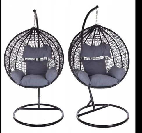 Fotel ratanowy kokon