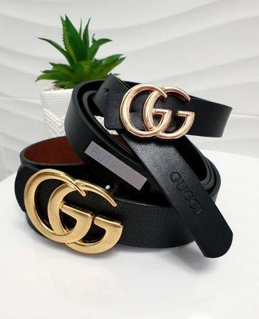 WYPRZEDAŻ Pasek Damski Gucci LV CK Moschino Guess Chanel MK PP Tanio