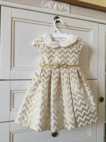 Шикарное платье на 2 года