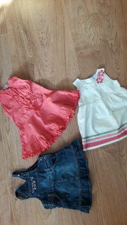 Sukienki dziewczęce rozmiar 68