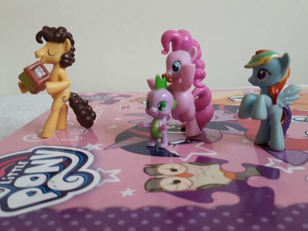 Kucyki pony (4 sztuki)
