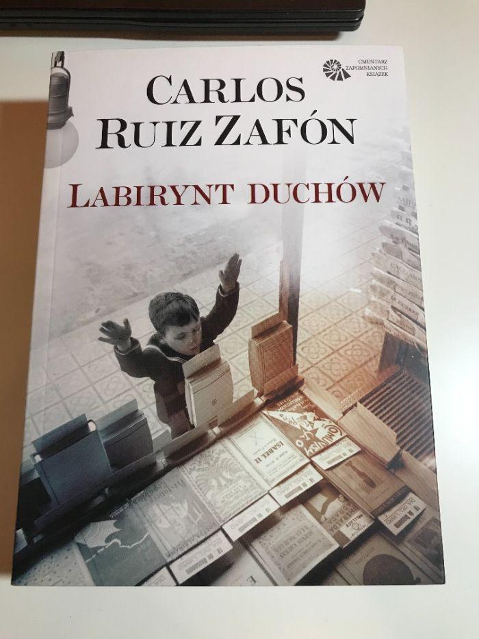 Carlos Ruiz Zafon - Labirynt Duchów Warszawa - image 1