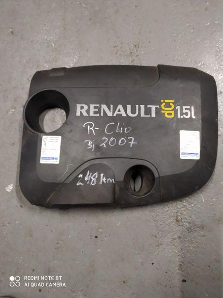 Osłona silnika pokrywa Renault Clio III 1.5 Dci 05-12r bd stan