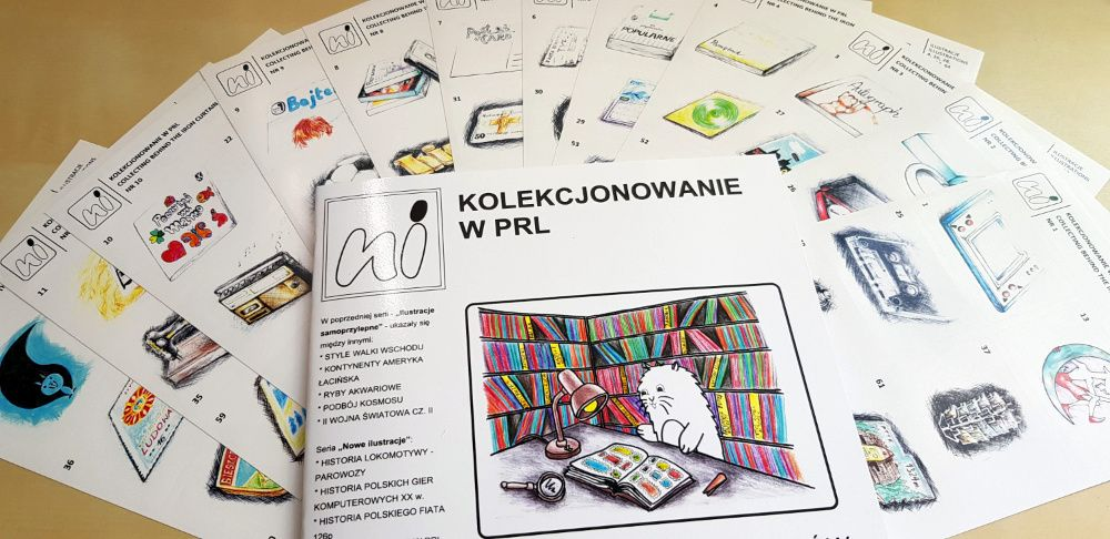 Kolekcjonowanie w PRL Album dla Kolekcjonerów IS Warszawa - image 1