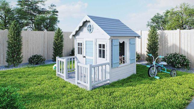 Drewniany domek ogrodowy dla dziecka, dzieci Smyk od Dżepetto!