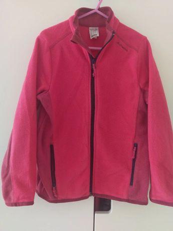 Bluza polarowa Quechua 115-124 różowa