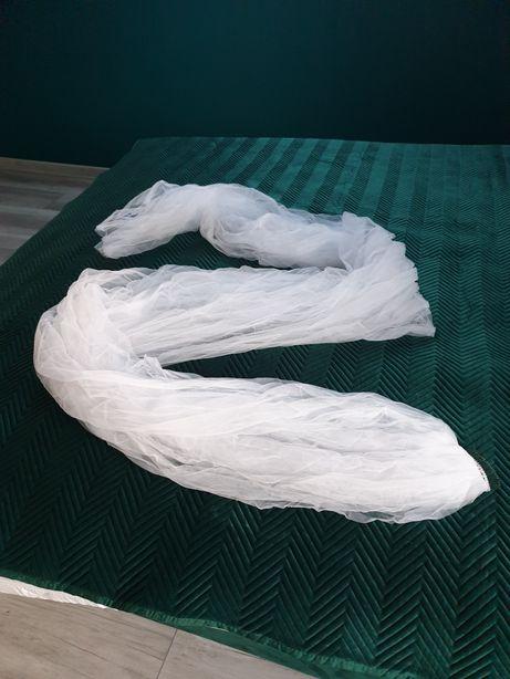 Śnieżnobiałe welony 3 i 5 m