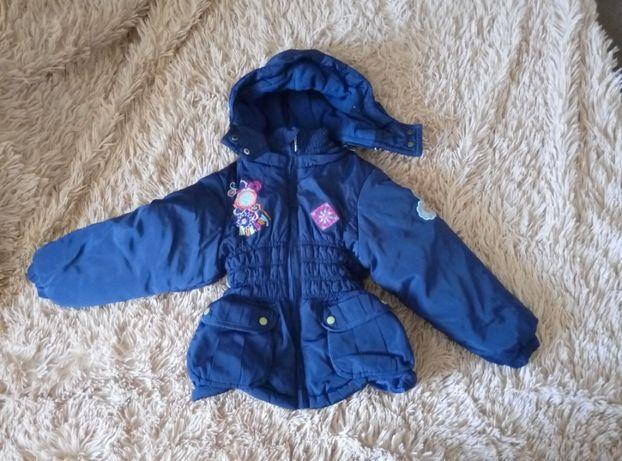 Зимняя еврозима холодная осень весна куртка для девочки