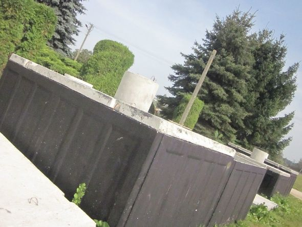 Szamba betonowe, Zbiornik na szambo, Zbiorniki na ścieki Legnica.