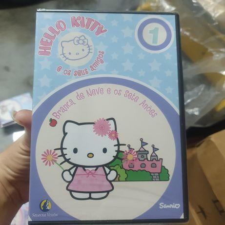DVD Hello Kitty e os seus amigos