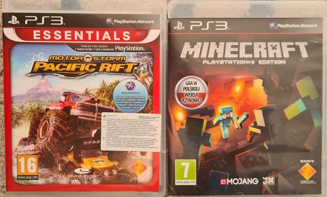 Minecraft PL PS3 + Pacific Rift