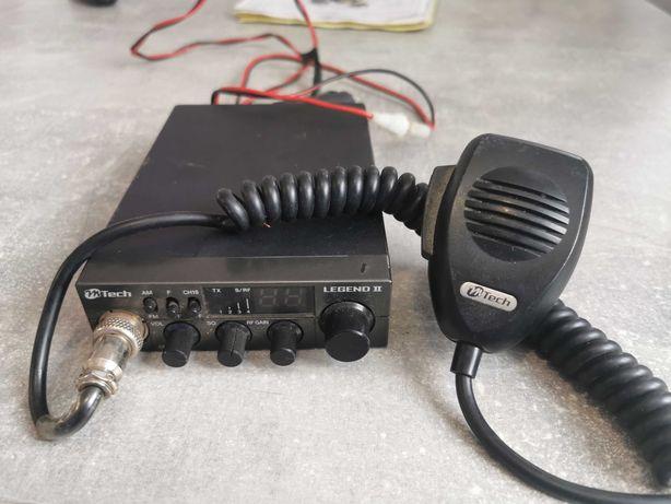 Cb radio Mtech Legend II +Antena