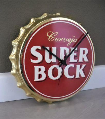 Relógio Vintage Publicitário Cerveja Super Bock