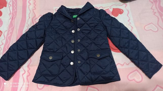 Куртка для дівчинки весна осінь легка