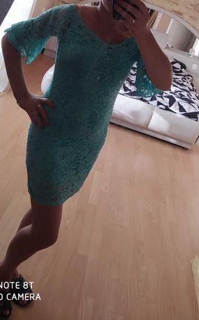 Sukienka 38 mietowa
