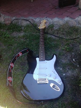 Gitara akustyczna elektryczna , strunowa.
