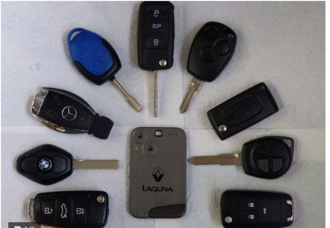Programowanie karty Renault Megane Scenic Clio Kluczyki immobilaizer
