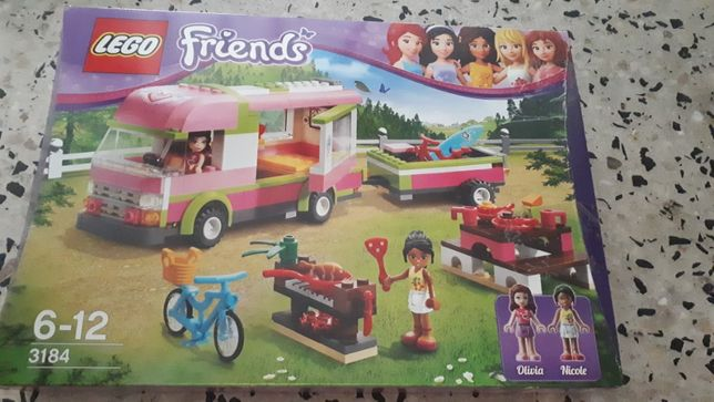 Lego Friends Samochód kempingowy 3184