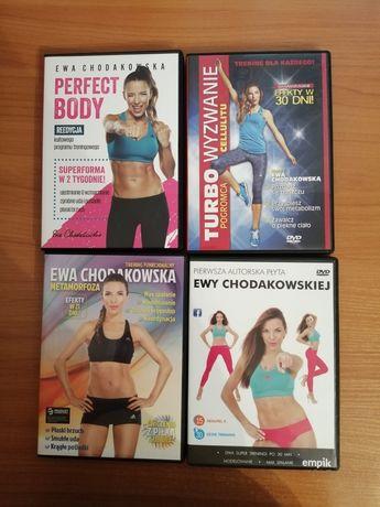 Płyty fitness E. Chodakowska