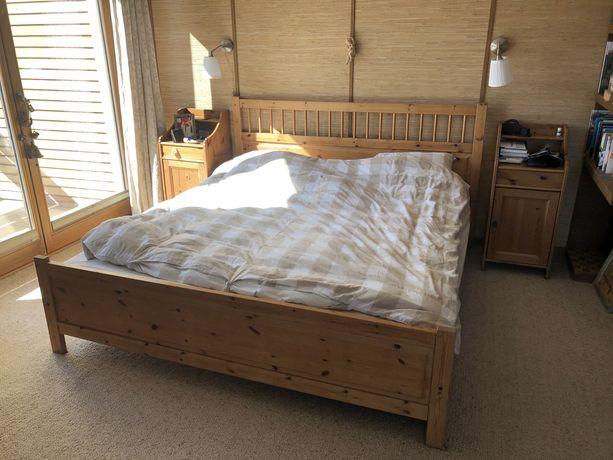 Łóżko drewniane 180x200 IKEA
