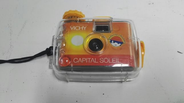 Maquina fotografia subaquática