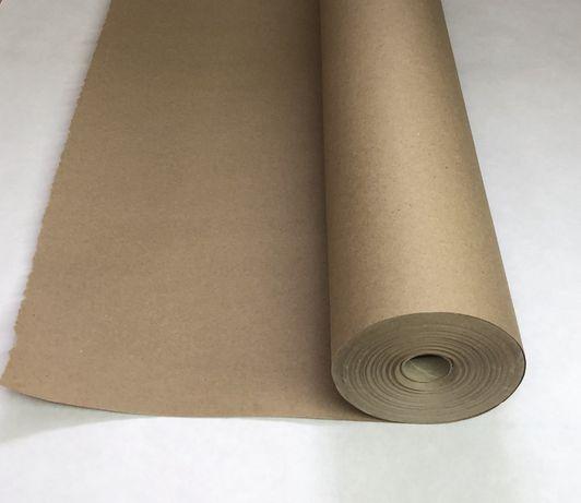 Крафт бумага в рулоне 84 см*70 м, 70гр, коричневая