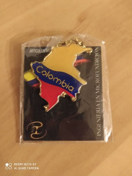 Breloki z Kolumbii