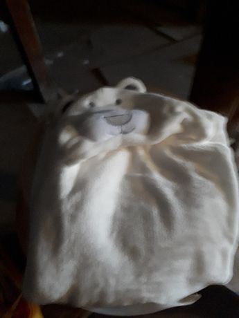 Kocyk biały/rożek