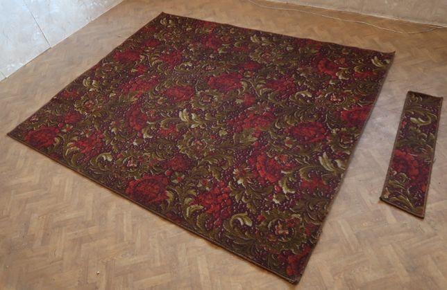 dywanik ładny, kwiatowy wzór