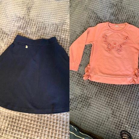 Дитячий одяг дівчачий (спідниця і кофта)