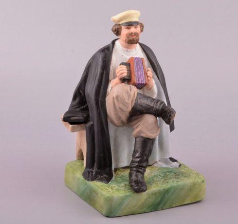 Гармонист модель Гарднер Раннее Советы Статуэтка фарфоровая Бисквит му
