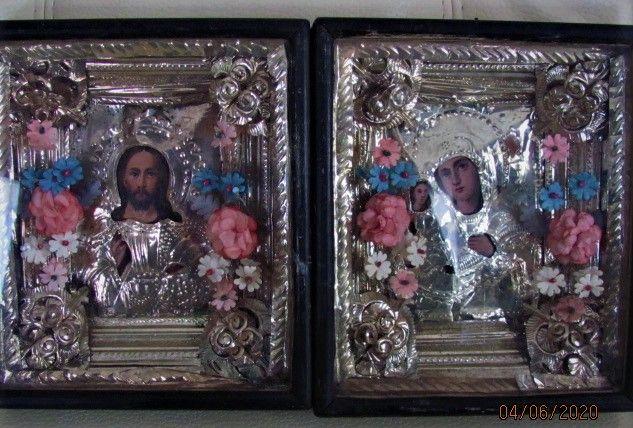 иконы (Венчальная пара, начало 20-го ст.)