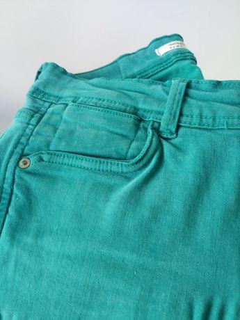 Zara jeans Verdes Esmeralda