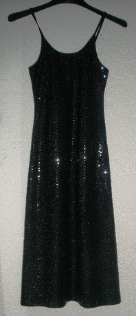 sukienka czarna wieczorowa