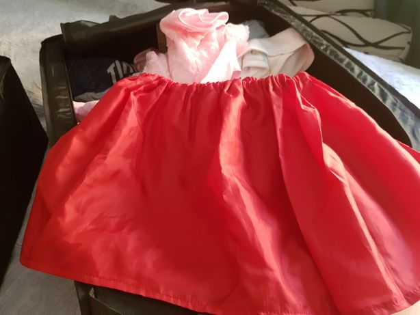 Продам юбку красную