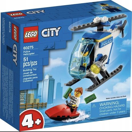 Lego City helikopter policyjny