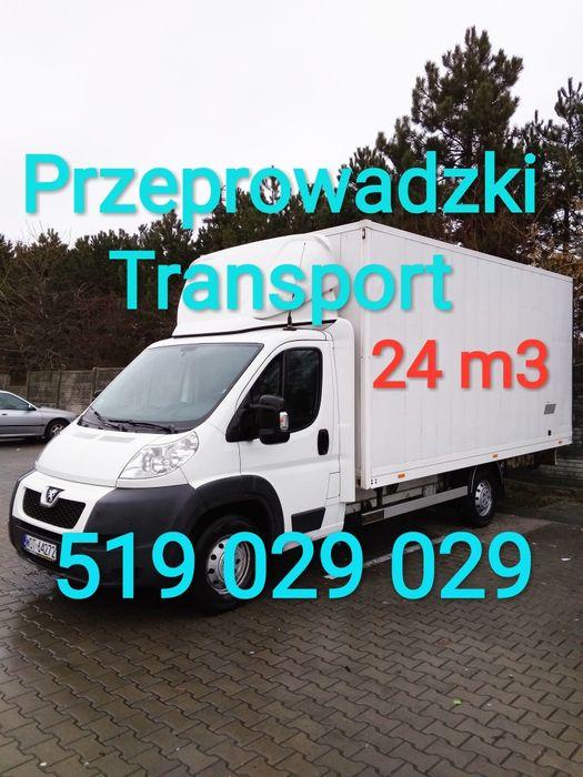 Tanio Transport mebli od 100zł przeprowadzki taxi bagażowe montaż IKEA Warszawa - image 1