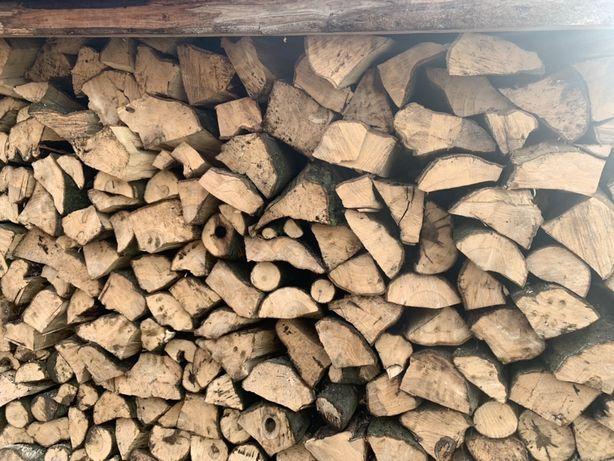 Drewno kominkowe grube lisciaste grab. Mam tez tansze olcha brzoza