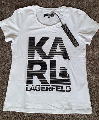 Bluzka Karl Lagerfeld rozmiar XL biała
