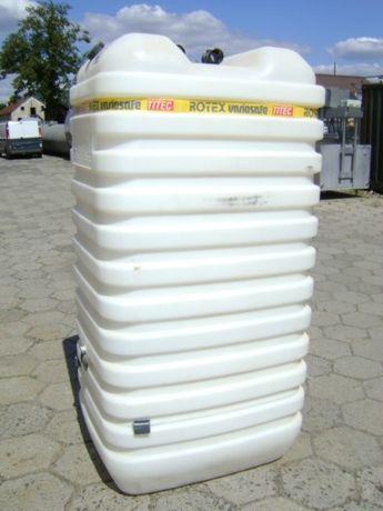 Zbiornik DWUPŁASZCZOWY 750L 1000L 1500L plastikowe