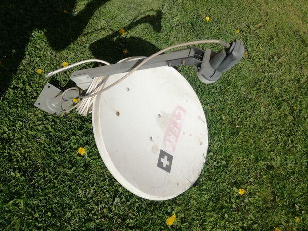 Antena satelitarna 60cm konwerter sharp