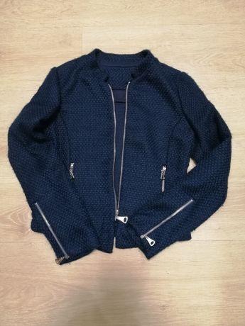Пиджак темно-синий на девочку