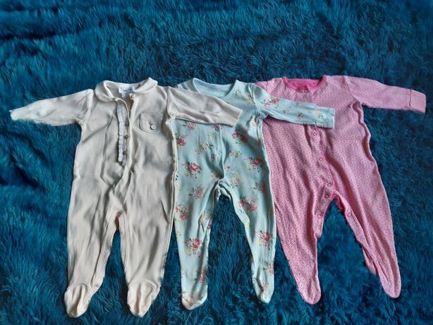 Набор человечков для новорожденной девочки 62-68