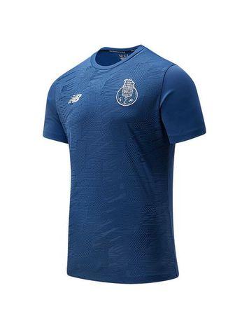 T-shirt Pre Match Azul Escura Criança FC Porto 20/21